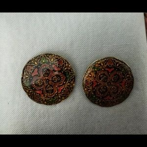 Jewelry - Stunning Vintage Clip Earrings